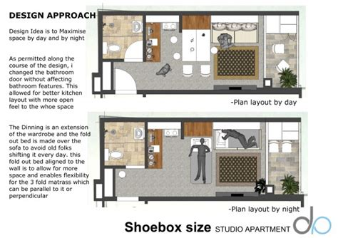 Studio Apartment Size by Living Room Designed By Anonymous Shoebox Size Studio