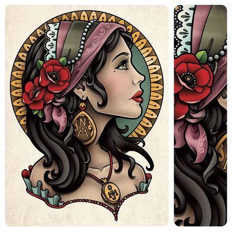 tattoo flash gypsy 209 best gypsy art images on pinterest design tattoos
