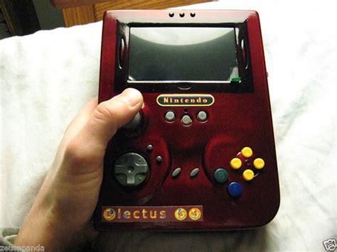 game boy case mod electus 64 portable nintendo 64 mod game boy becomes game