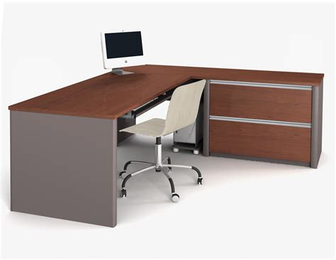 Office Desk L Shaped Bestar Connexion L Shaped Desk