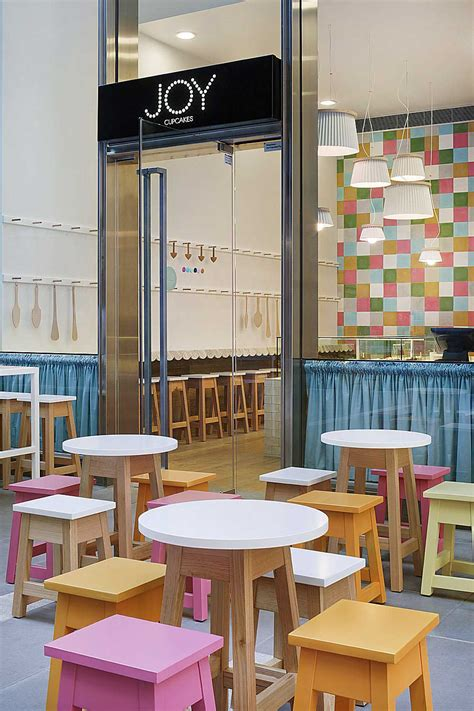 Cupcake Shop Interior Design by Interior Design For A Cupcake Shop With Pink Orange And