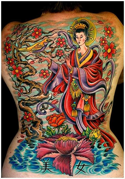 geisha traditional tattoo flash 45 traditional geisha tattoo that inspire your artistic side