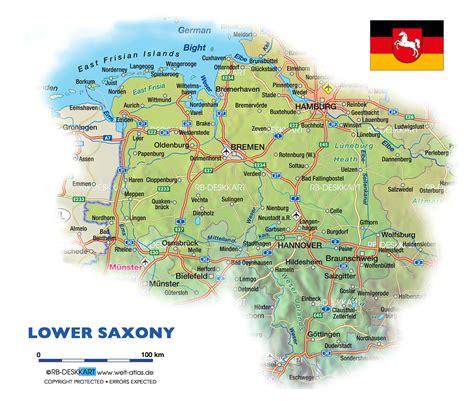 saxony germany map image gallery saxony map