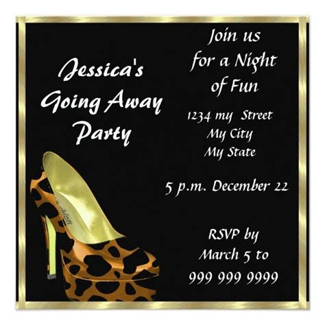 78 best images about farewell invitations on