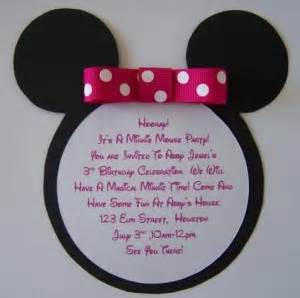 minnie mouse birthday invitation ideas ideas birthday ideas