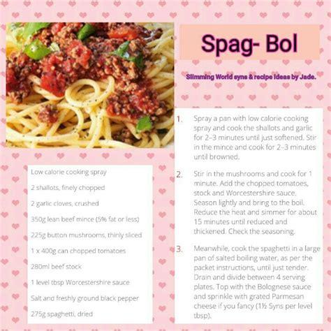 best spag bol recipe best 25 slimming world spag bol ideas on