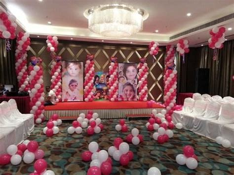 birthday decoration pictures at home in india winsome 1st birthday party decorations india g wall decal