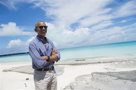 obama island exclusive obama says hawaii and mom shaped love of nature