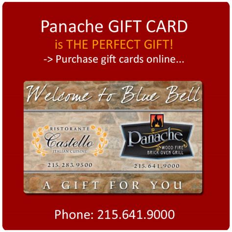 home panache woodfire grill - Panache Gift Card