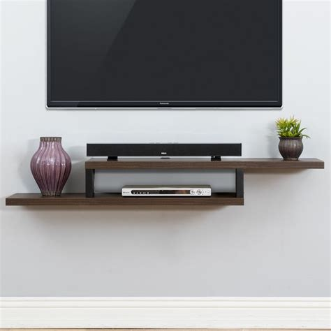 Tv Accessories Wall Shelf by Best 25 Wall Mounted Tv Ideas On Mounted Tv