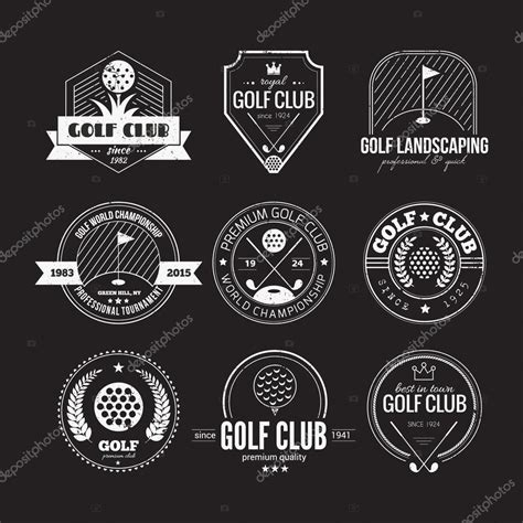 gulf logo vector golf logos stock vector 169 favetelinguis199 112157346
