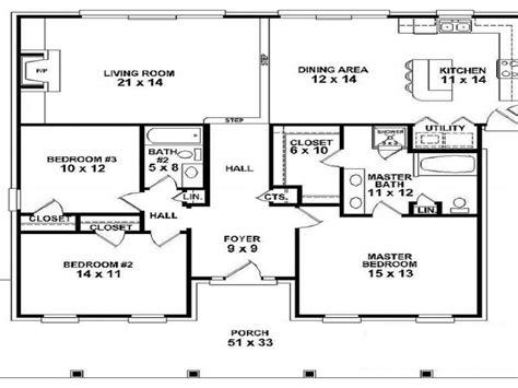 modern house plans one story open floor plan best single