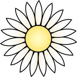 daisy flower outline free download clip art free clip