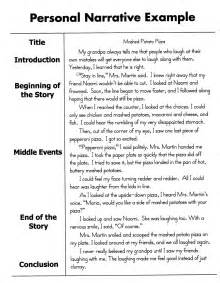Exle Of Essay Story by How To Write A Personal Narrative Essay For 4th 5th Grade Oc Homeschooling