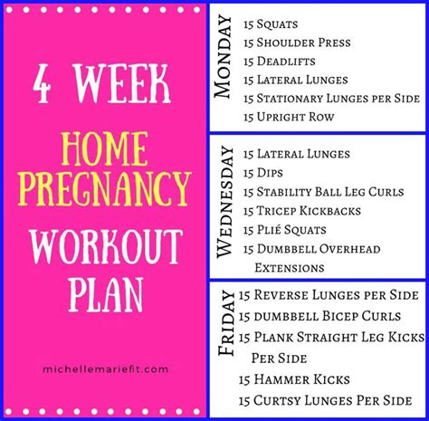 1000 ideas about pregnancy workout plans on
