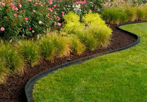 rubber st border rubberific debuts new premium landscape edging