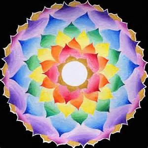 Lotus Flower Chakra The Crown Chakra Lotus Mandala Signed By