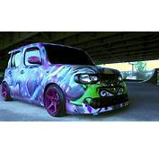Nissan Cube  Grafitti Bombed And Bagged SS&ampS Volume5