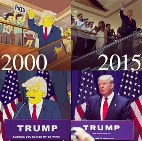 donald trump simpsons fact check did the simpsons anticipate a donald trump
