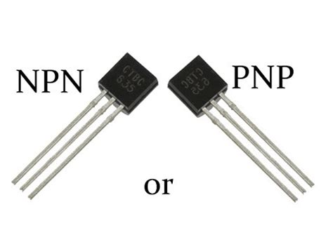transistor unterschied pnp npn how to identify an pnp or npn transistor