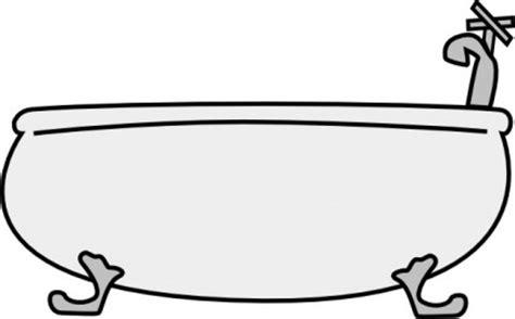 clipart di vasca da bagno vector clipart vettoriali gratis