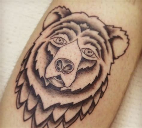bear tattoo to represent the biermann crest i want a