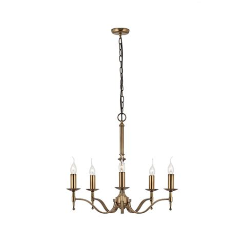 5 Light Ceiling Fitting by Interiors 1900 Stanford 5 Light Ceiling Fitting In Antique