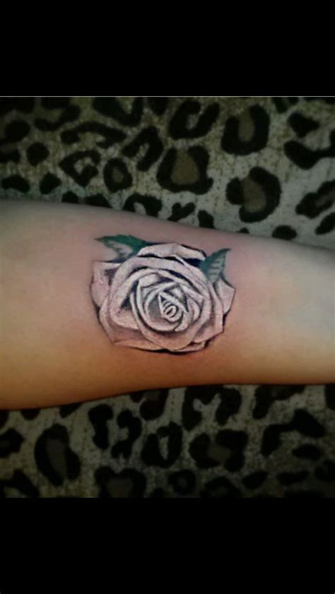 tattoos of white roses white tattoos