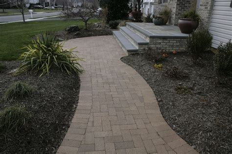 Design Ideas For Brick Walkways Exterior Design Brick Walkway Landscape Designs Pinterest