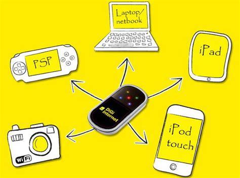 Portable Wifi Digi digi introduces mobile wireless portable router in malaysia