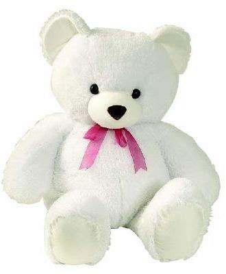 Boneka Beruang White Teddy Boneka Marsha Bebe Holidays Oo