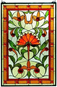 Arcadian Leaves 1859 stained glass on stained glass patterns