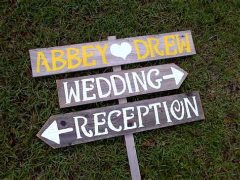 Handmade Wedding Signs - the canopy artsy weddings weddings