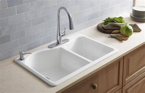 cast iron sink cast iron sinks guide the kitchen sink handbook