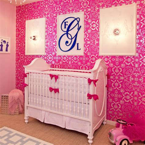 hot pink baby bedding white hot pink crib bedding set by little crown interiors