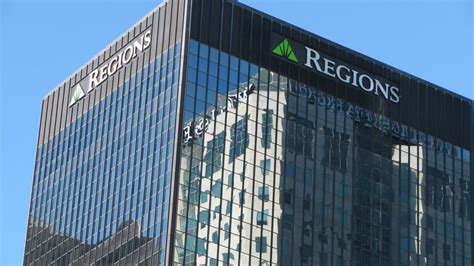 regions bank in birmingham regions financial is nation s 22nd largest bank