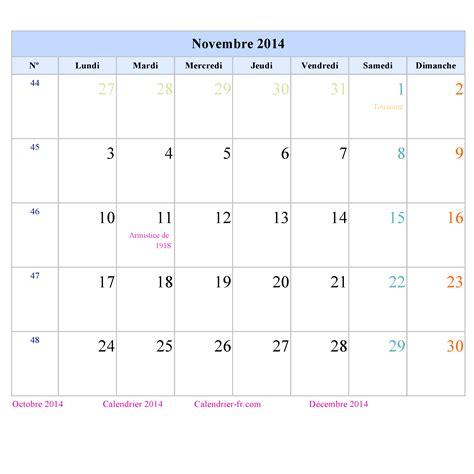 Calendrier Novembre 2014 Pin Calendrier Novembre 2014 On