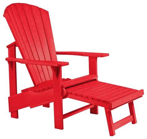 Modern Adirondack Chairs by C R Plastics Adirondack Upright In