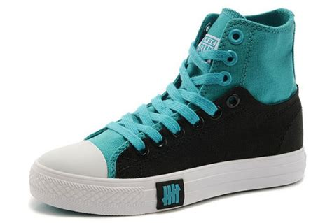 light blue high tops converse high top light blue black chuck