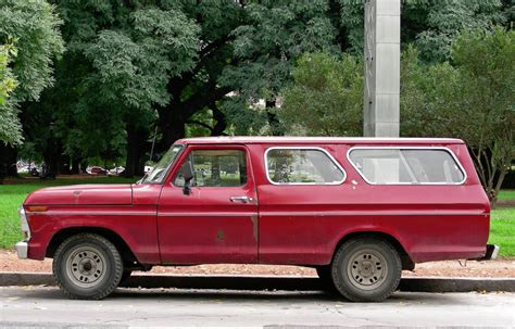 Ford Suburban by Cohort Sighting Argentinian Ford B 150 Three Door Suburban
