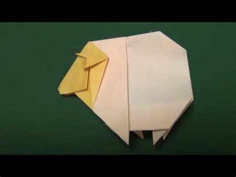 Origami Sheep - ひつじ 折り紙 quot sheep quot origami