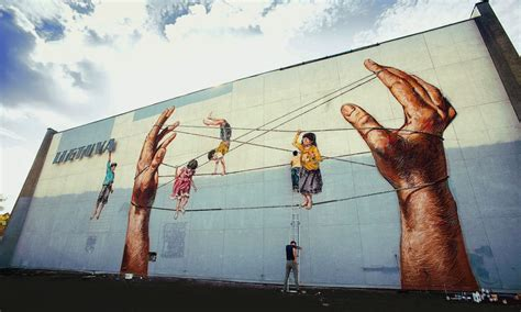 penang street art bullfrogs symposium lithuanian street artist ernest quot zach quot zacharevic has