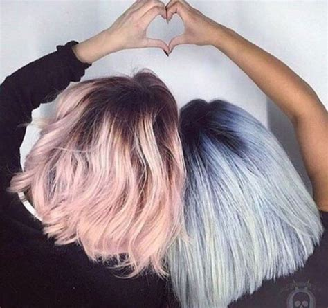 pastel pink hair ideas  pinterest pink hair