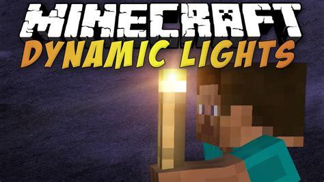 Dynamic Lights Mod dynamic lights mod for minecraft 1 10 1 9 4 1 9