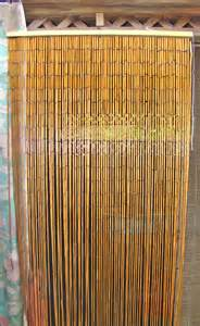 Bamboo Beaded Curtains For Doors Bamboo Beaded Curtain Divider Boho Decor Instead Of A Door