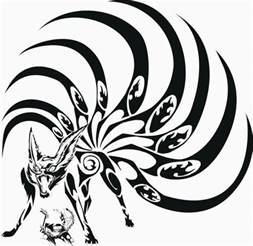naruto amp kyubi vector download free vector art stock