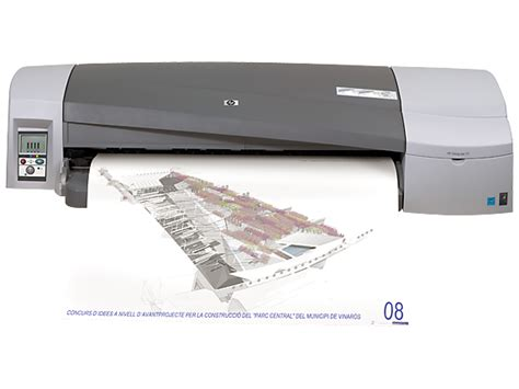 hp designjet 111 24 in printer with roll hp 174 official store