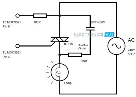 snubber circuit with diode lighting circuit snubber lighting xcyyxh