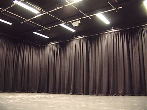 studio curtains drapes stage lighting systems