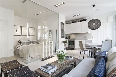 modern glass wall small 366 sq ft apartment with glass wall idesignarch